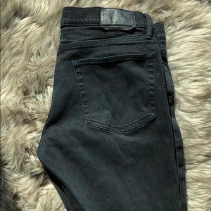 Burberry mens dark navy blue pants W32